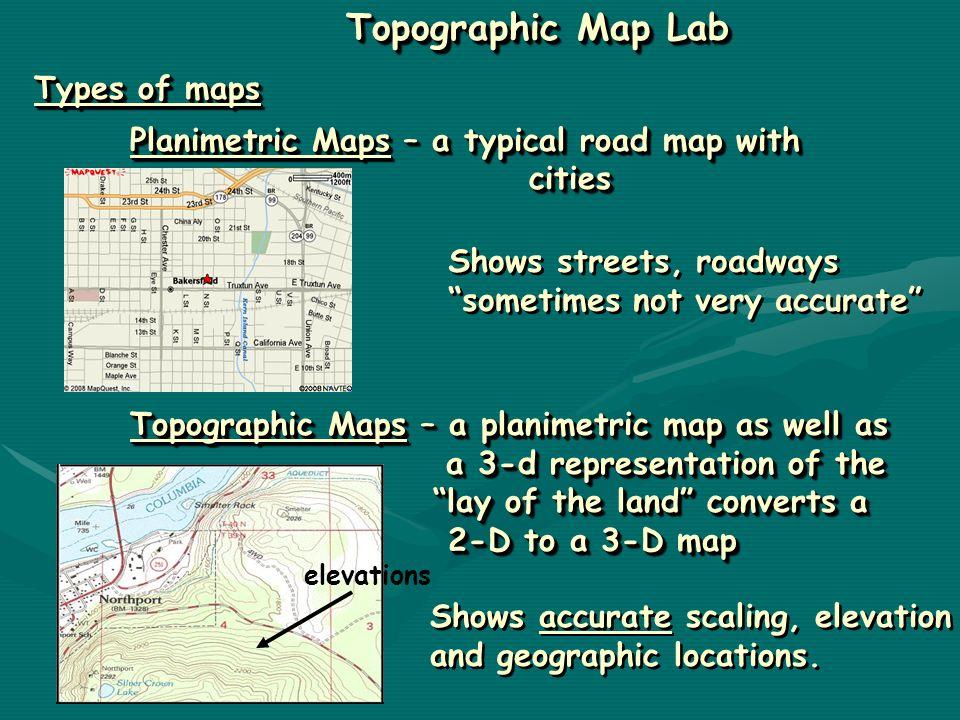 Interpretation And Construction Of Topographic Maps Interpretation