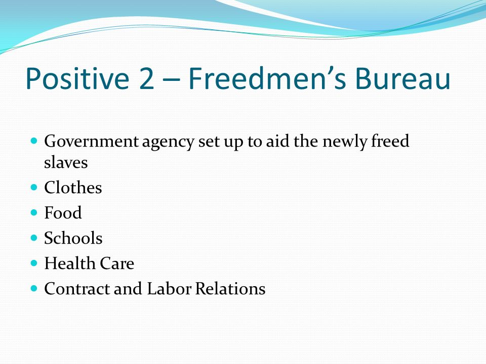 negatives of slavery