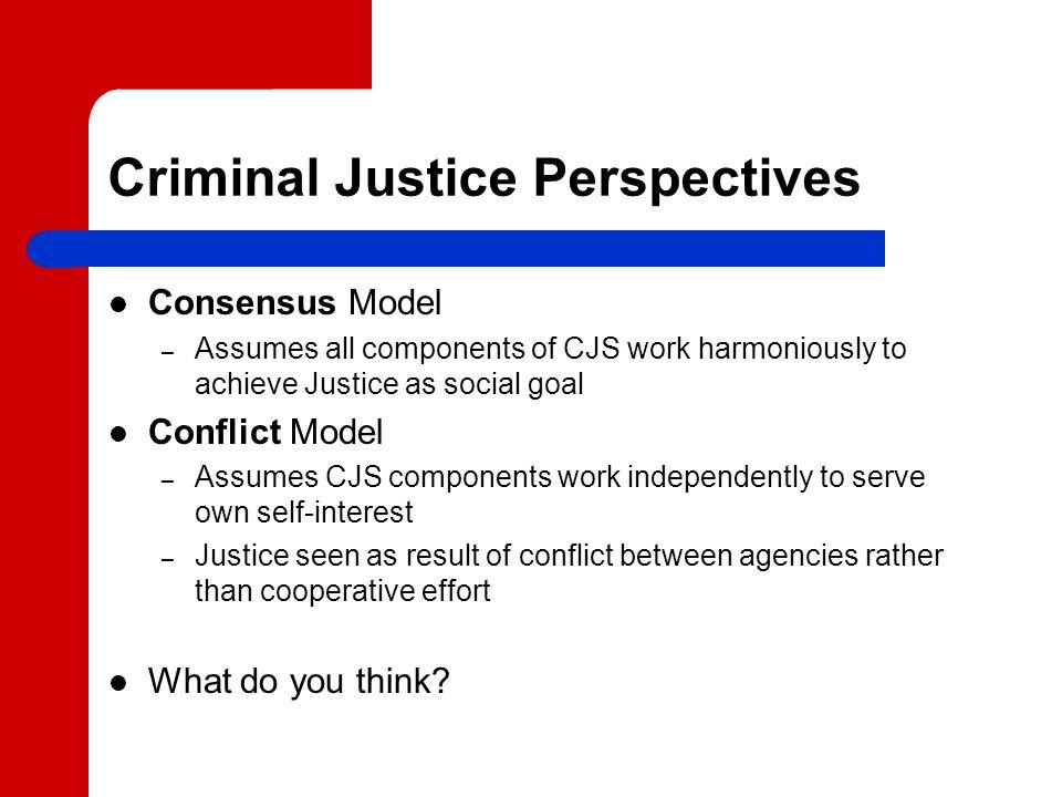 consensus model vs conflict model