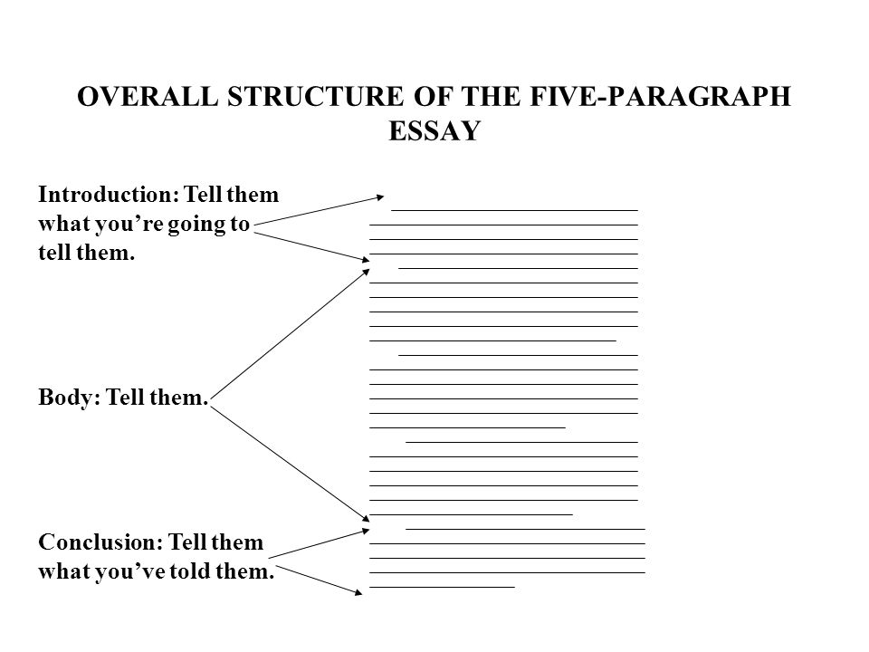 overall structure of an essay A good evaluative essay helps a writer present an opinion using criteria and evidence learn all about the evaluative essay and its components in.