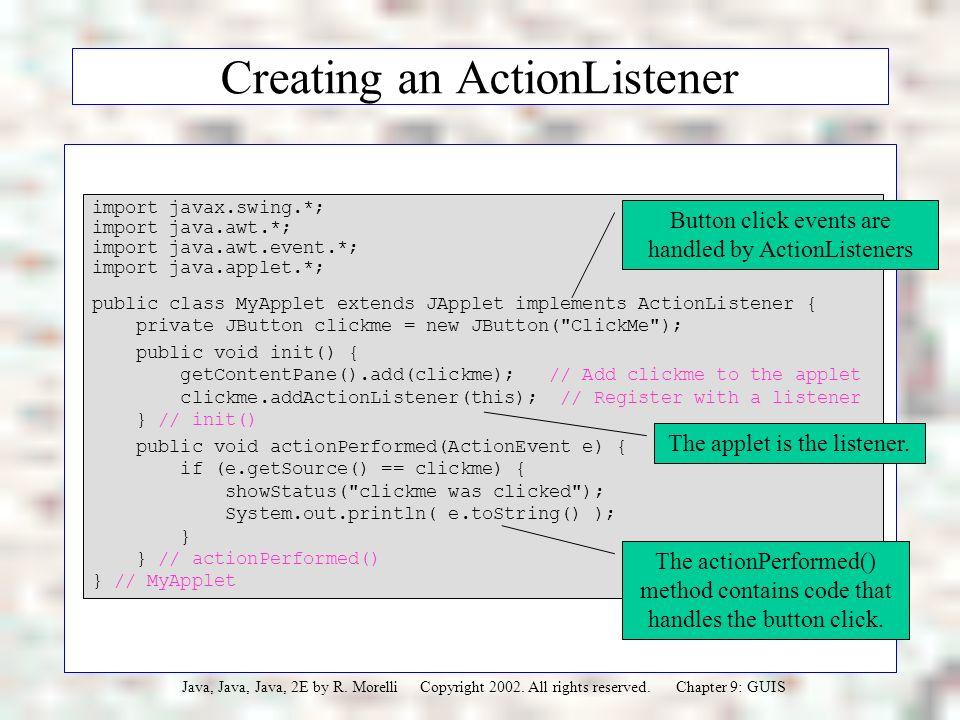 JAVA, JAVA, JAVA Object-Oriented Problem Solving Ralph