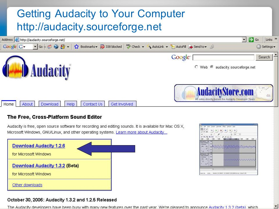 Do You Have the Audacity to Podcast Getting Audacity to Your