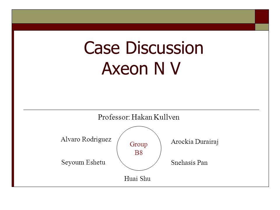 case study axeon n.v