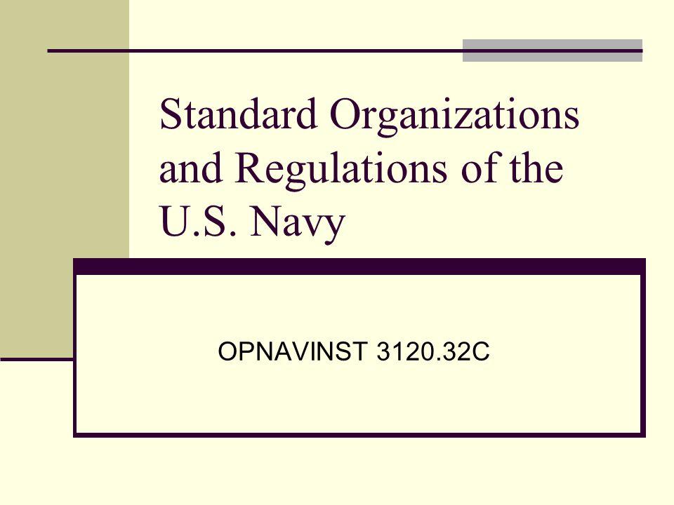 1 standard organizations