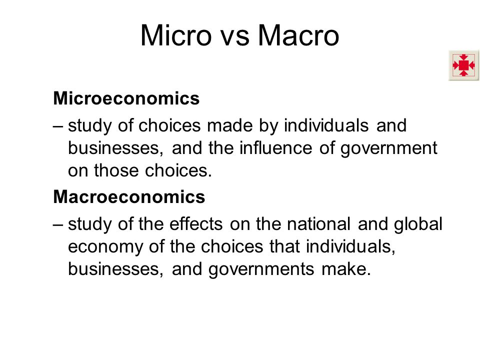 an introduction to microeconomics macroeconomics and globalization economics essay Essay writing skills  brief introduction by economics focus on what is economics which will be  which can be classified as microeconomics and macroeconomics.
