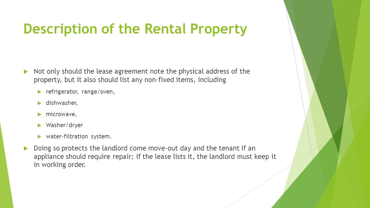 Whats On An Apartment Lease From Rocketlawyer Ppt Download