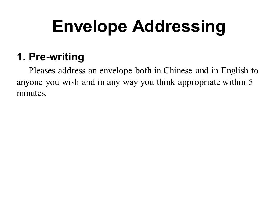 Lecture two personal letter writing course outline how to write an course outline how to write an envelope personal letter writing 3 envelope addressing expocarfo Images