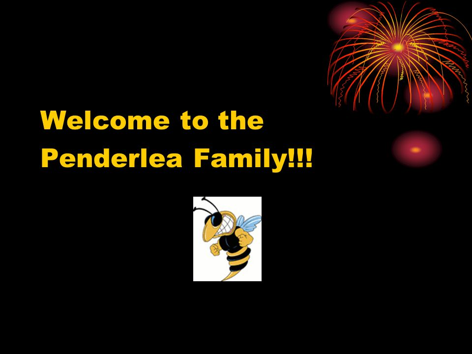 Welcome to the Penderlea Family!!!