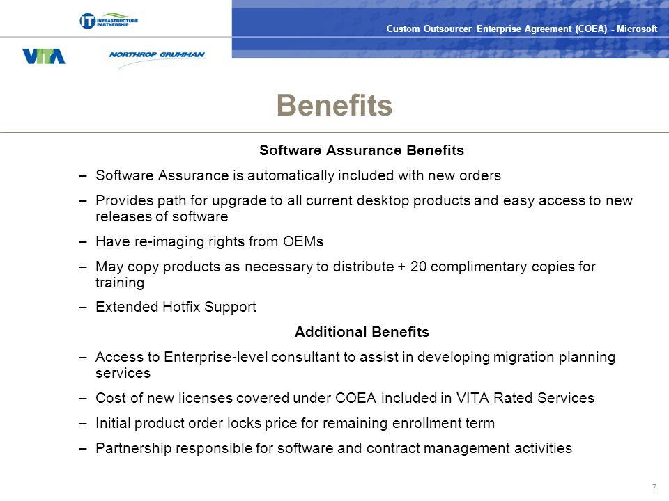 Custom Outsourcer Enterprise Agreement Coea Microsoft 0