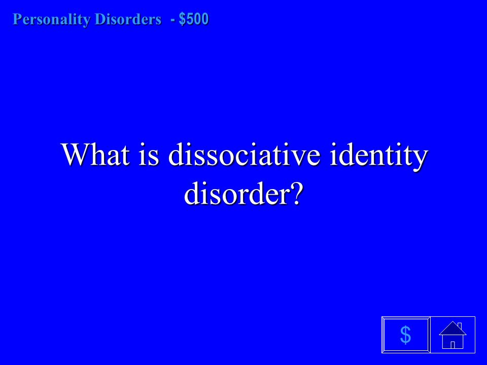 Personality Disorders - $400 What is narcissistic $