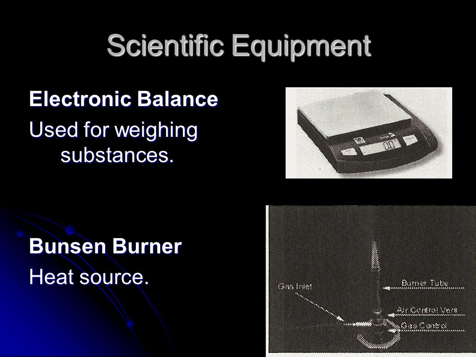 science equipment bunsen burner