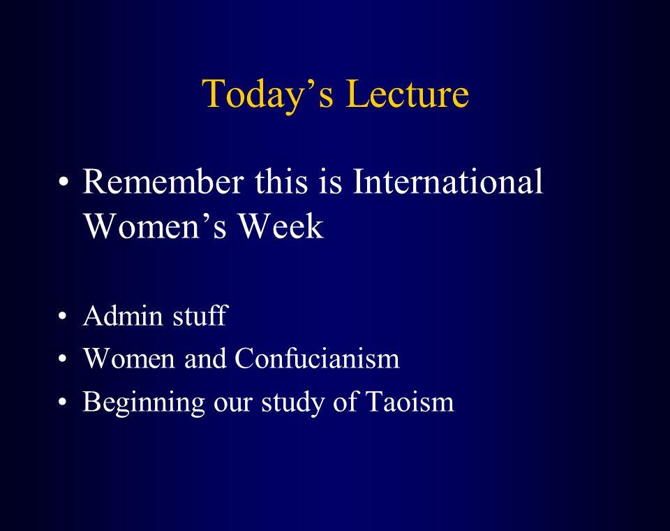 Women in taoism