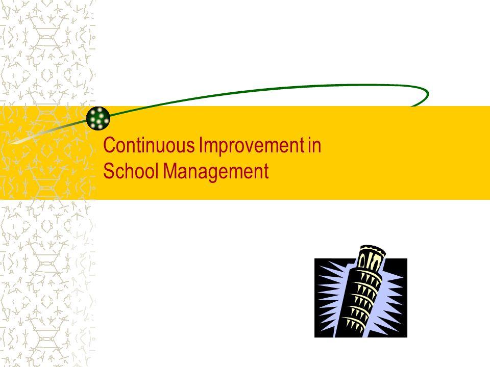 1 continuous improvement