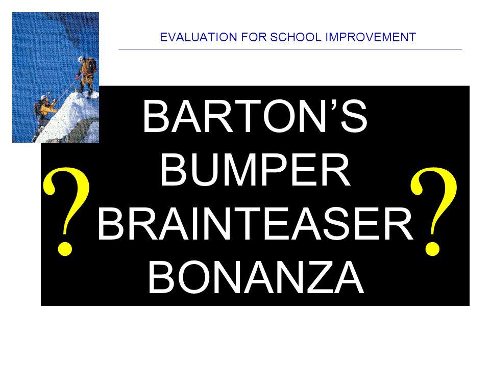 evaluation for school improvement geoff barton thursday october 15