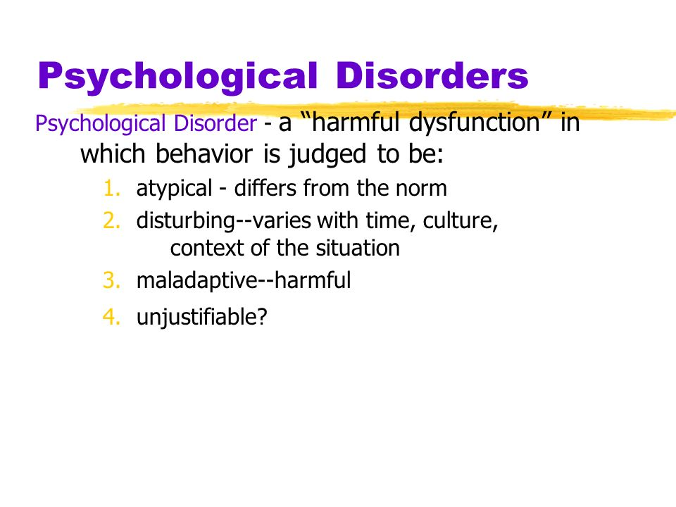 Judging abnormal behavior.