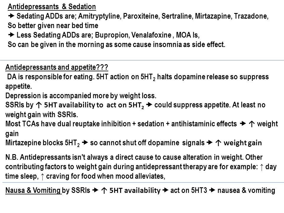 Non sedating antidepressant