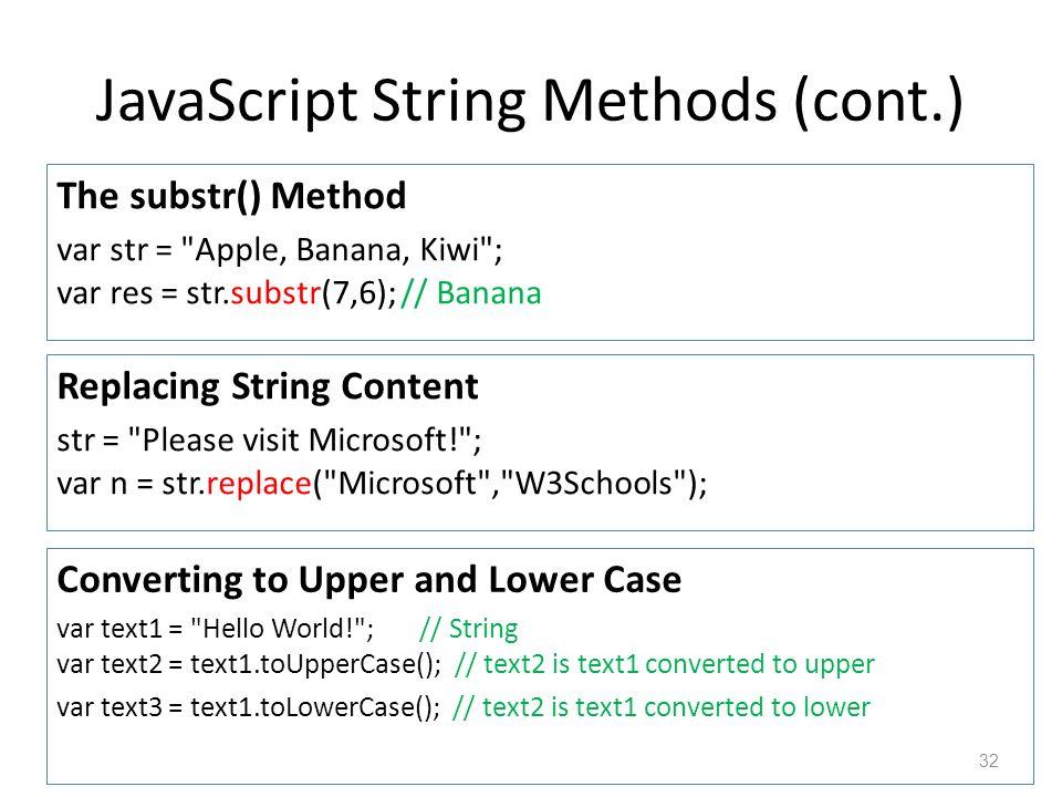 Beaches] Typeof operator in javascript w3schools