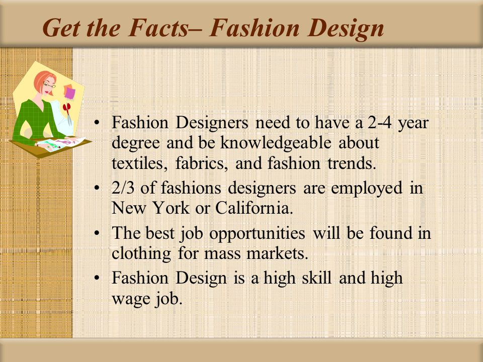Interesting Facts About Fashion Designers