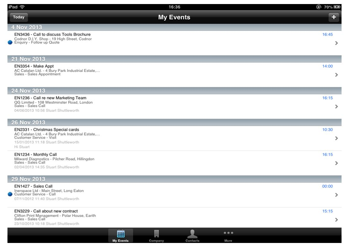 Welcome to the Shuttleworth CRM iPhone & iPad App YouTube