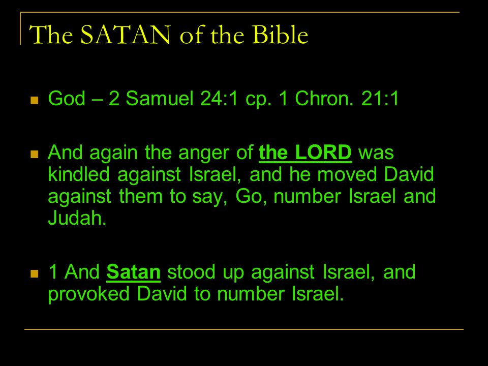 Image result for Satan loves to provoke God to wrath