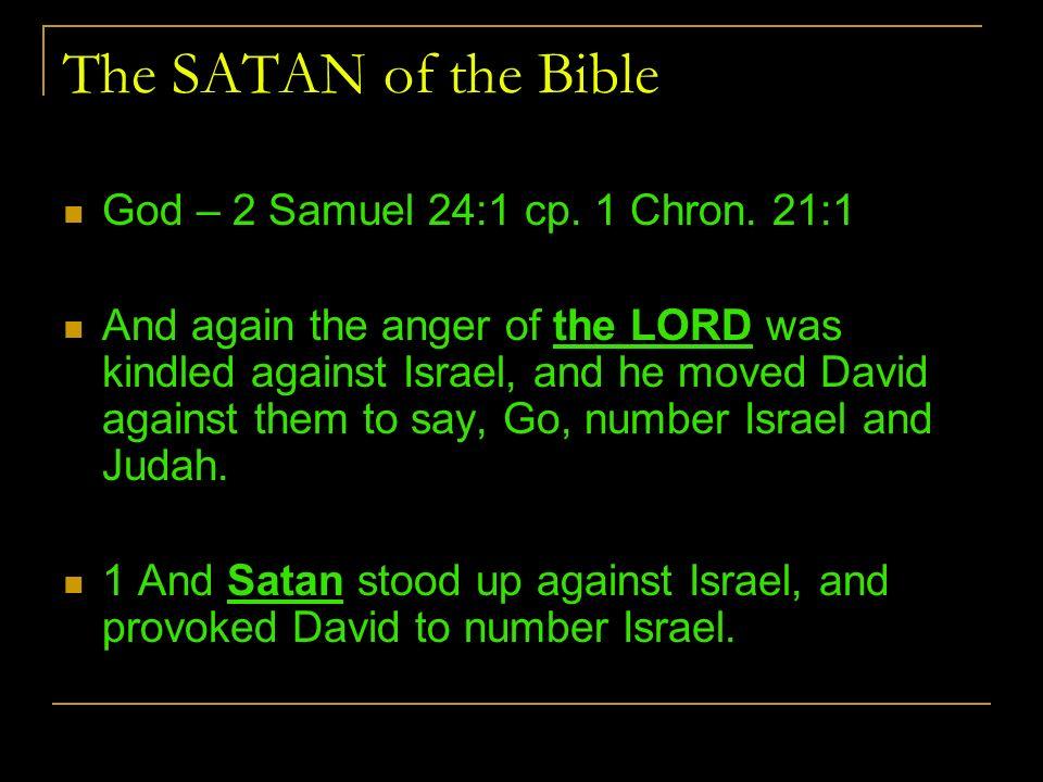 Image result for Satan loves to provoke God to wrath