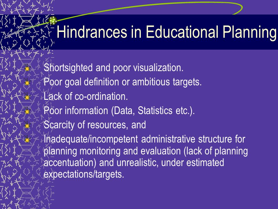 what is educational planning definition