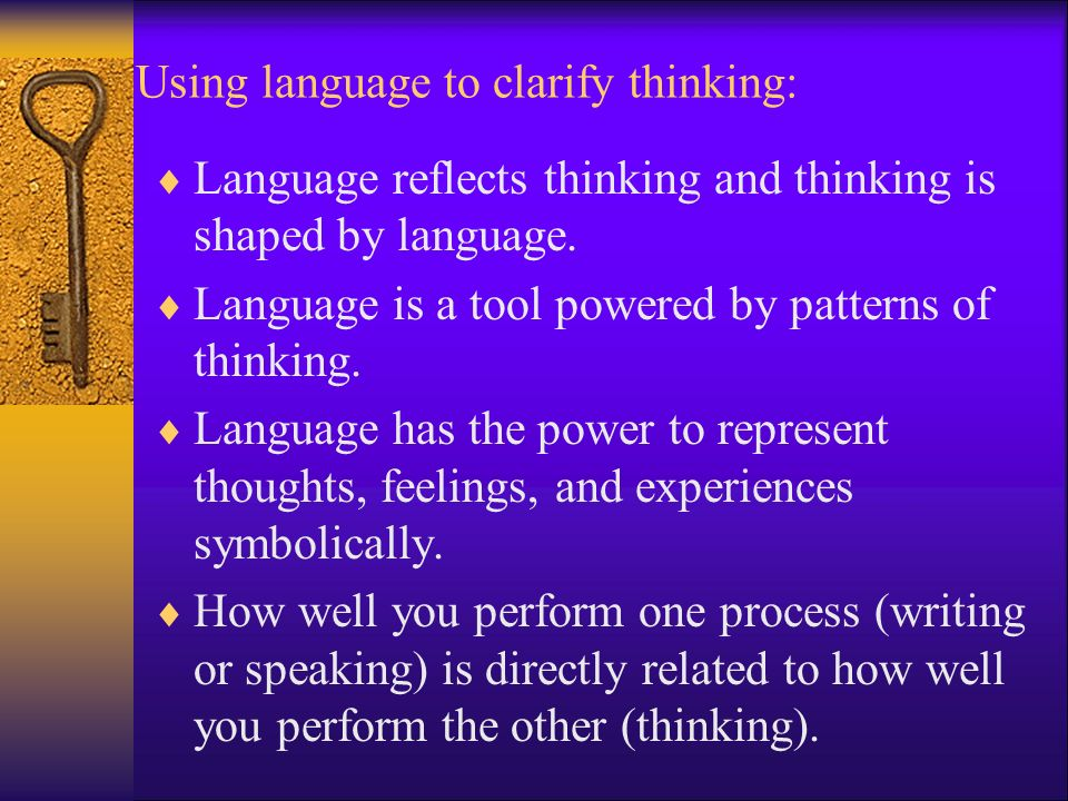 language reflects who you are