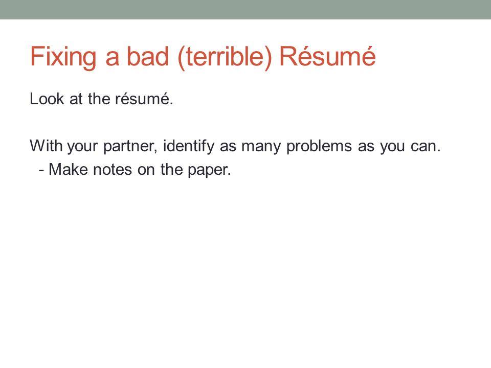 technical writing october 11 today job application résumés
