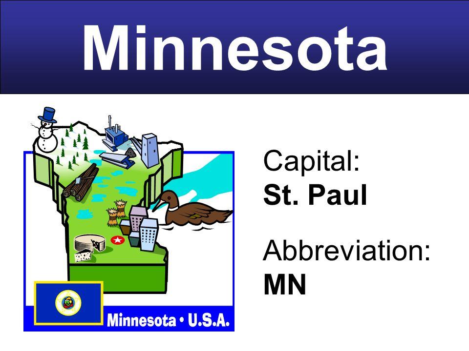 39 Capital St Paul Abbreviation MN