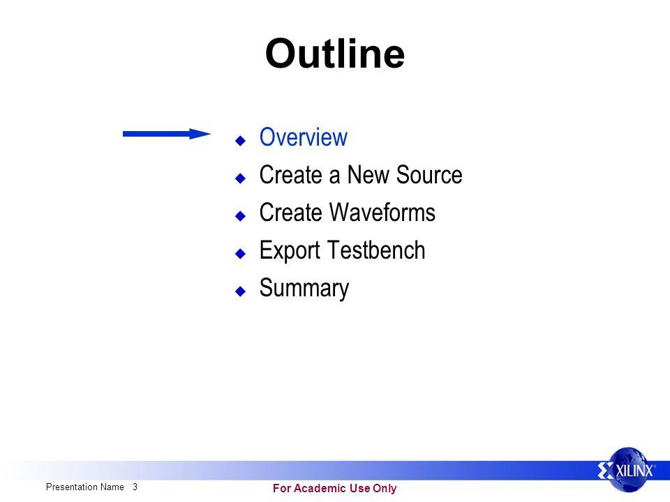 hdl bencher fpga design workshop for academic use only presentation