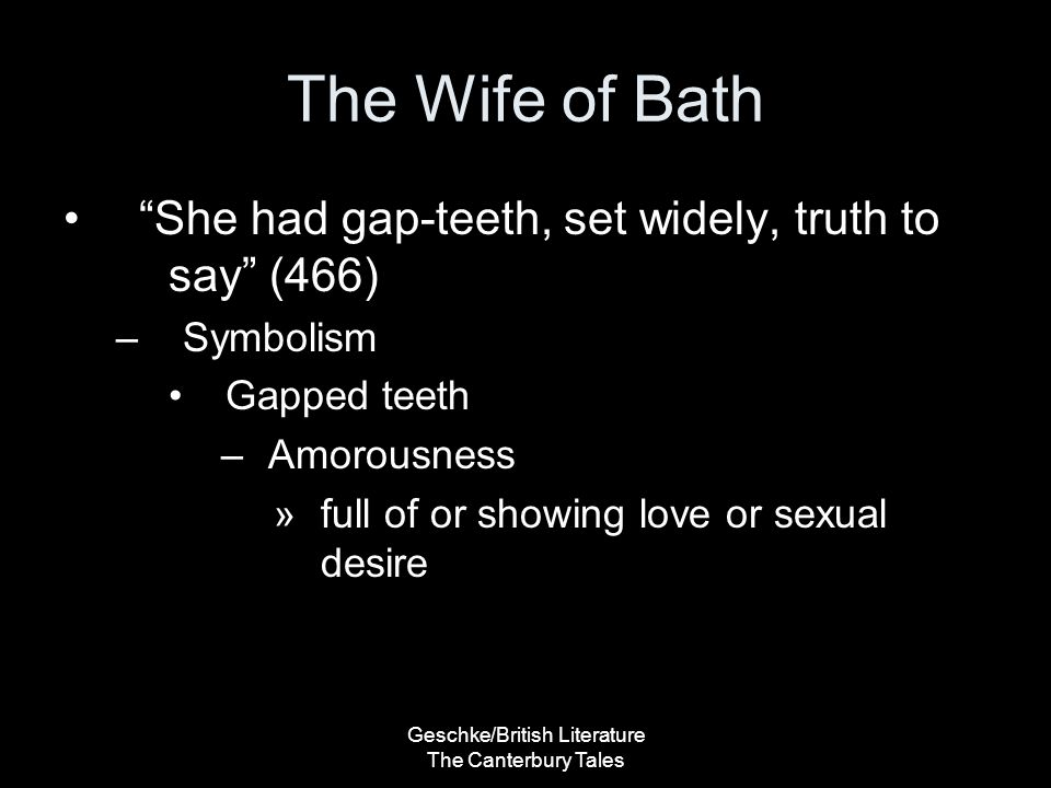 the resemblances in the wife of baths prologue and the canterbury tales The canterbury tales summary the following texts are the property of their respective authors and we thank them for giving us the opportunity to share the information of medicine and health contained in the site are of a general nature and purpose which is purely informative and for this reason may not.
