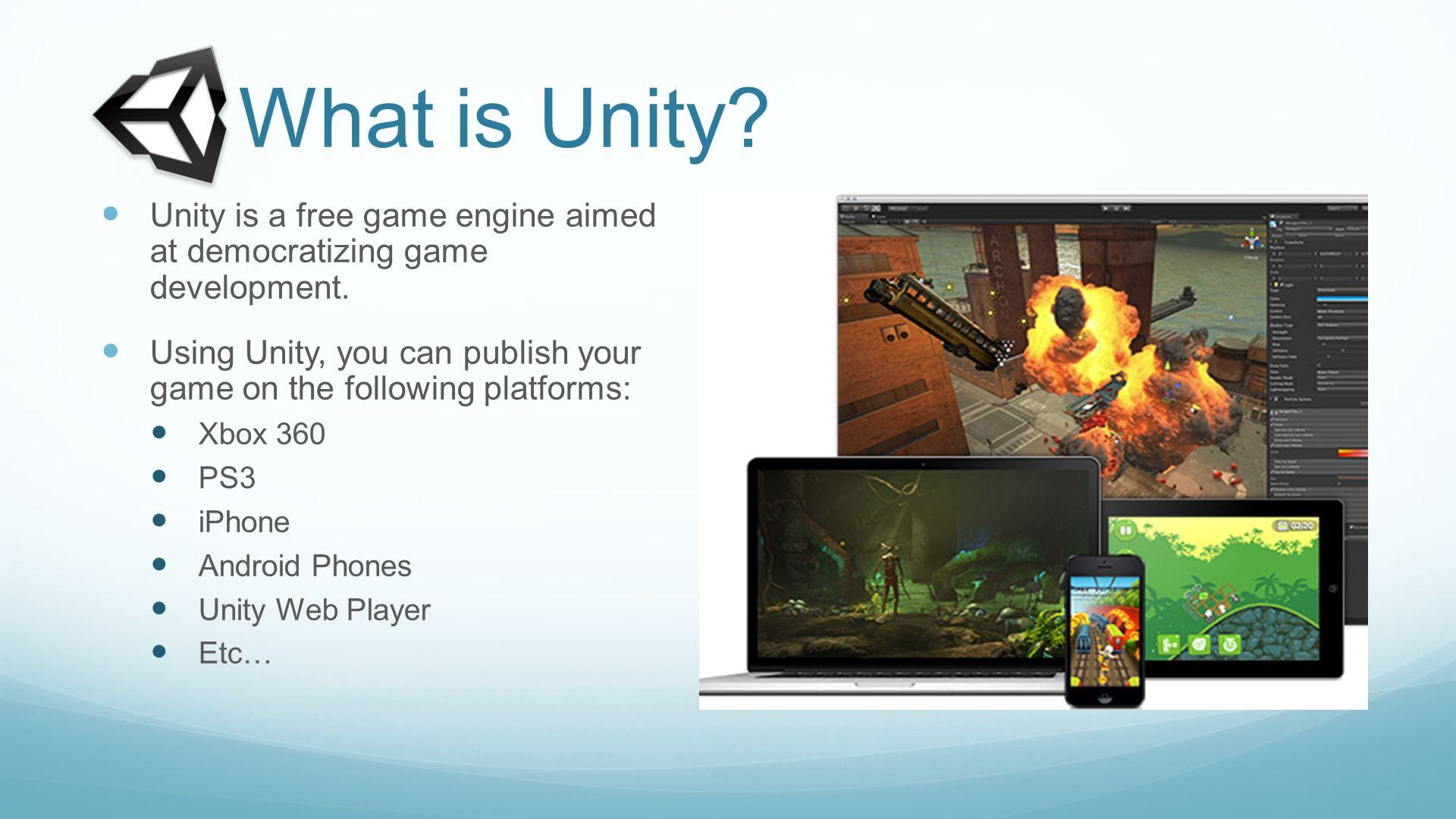 Unity Crash Course for VT Gaming Capstone John McElmurray