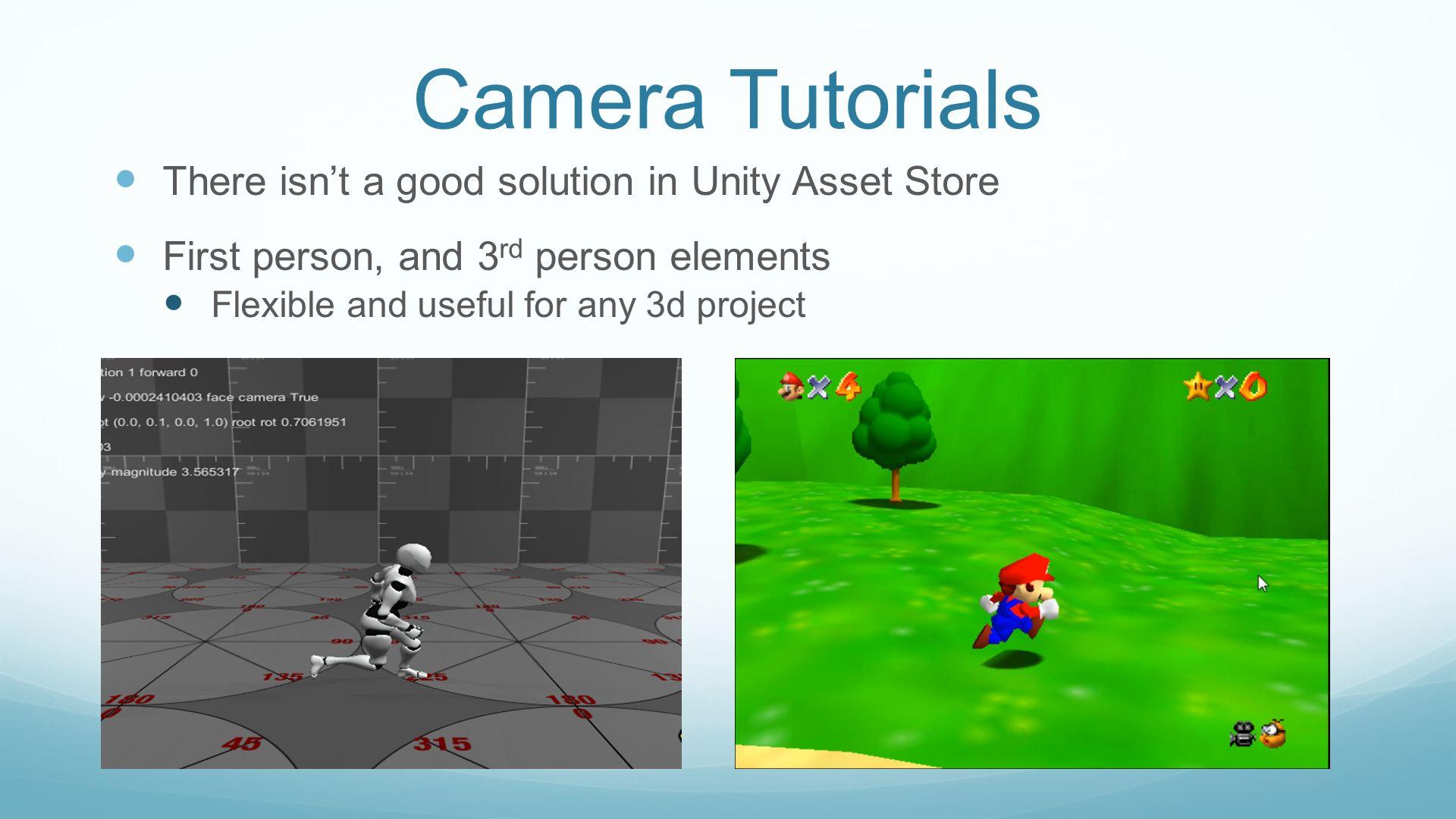 Unity Crash Course for VT Gaming Capstone John McElmurray Github