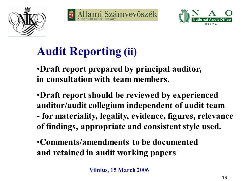Vilnius, 15 March Guidelines on Audit Quality Presentation by Jacek