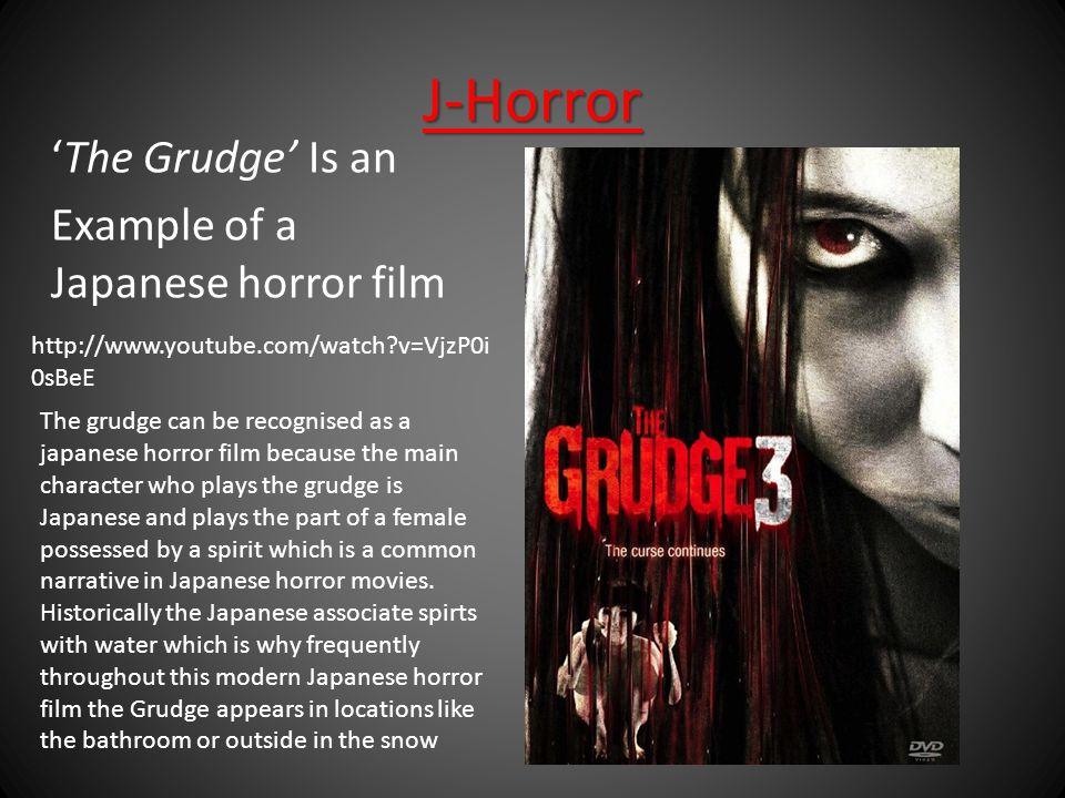Horror Sub-Genre Research  J-Horror Definition: Japenese