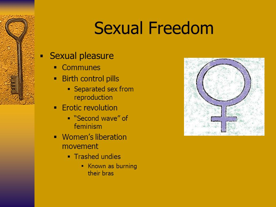 Sexual freedom movement there