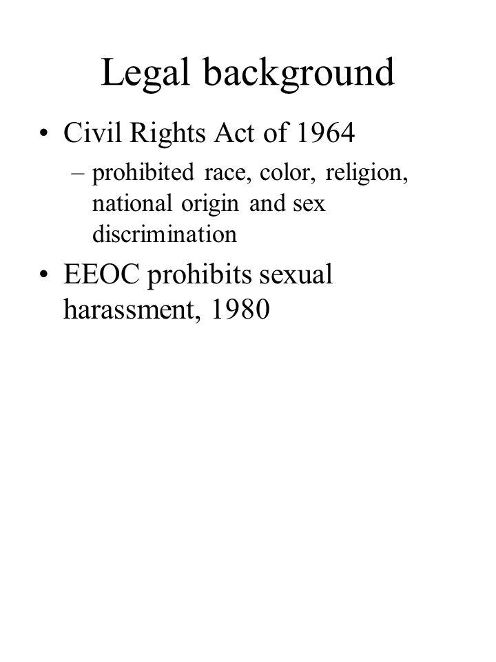 Quid pro quo sexual harassment eeoc cases