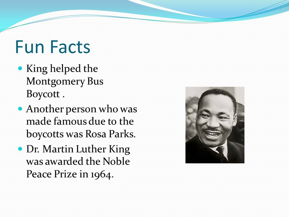 By Ume T Personal Information Martin Luther King Jr Was Born On