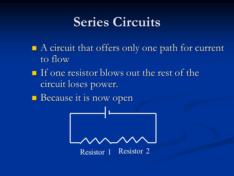 Astounding Series And Parallel Circuits Different Ways Of Wiring Multiple Wiring 101 Tzicihahutechinfo