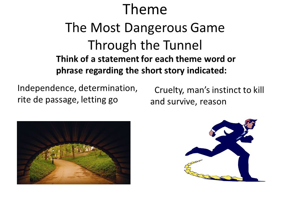 the tunnel short story