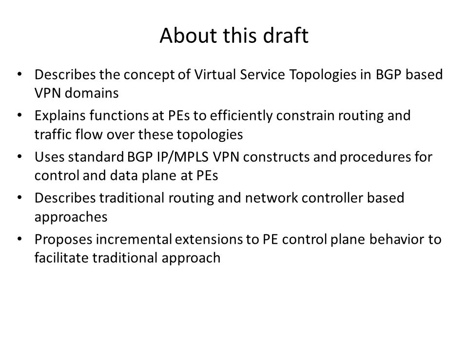 Virtual Topologies for Service Chaining in BGP IP/MPLS VPNs
