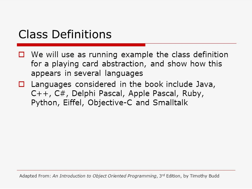 CSCI-383 Object-Oriented Programming & Design Lecture ppt