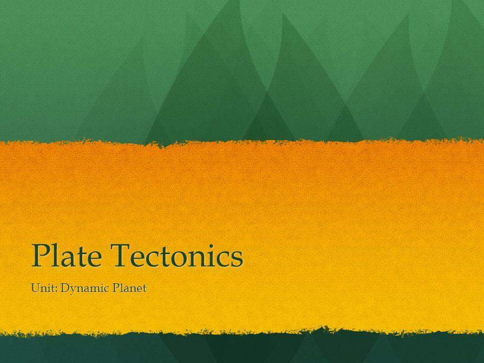 dating tectonic plates