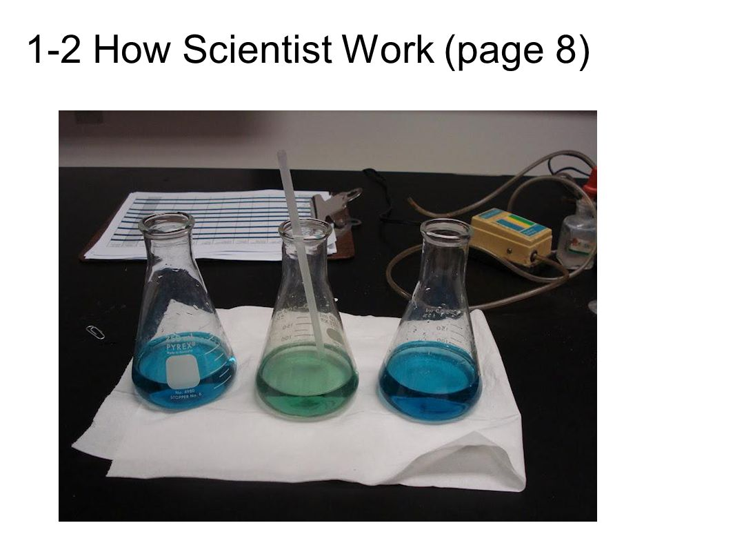1-2 How Scientist Work (page 8)