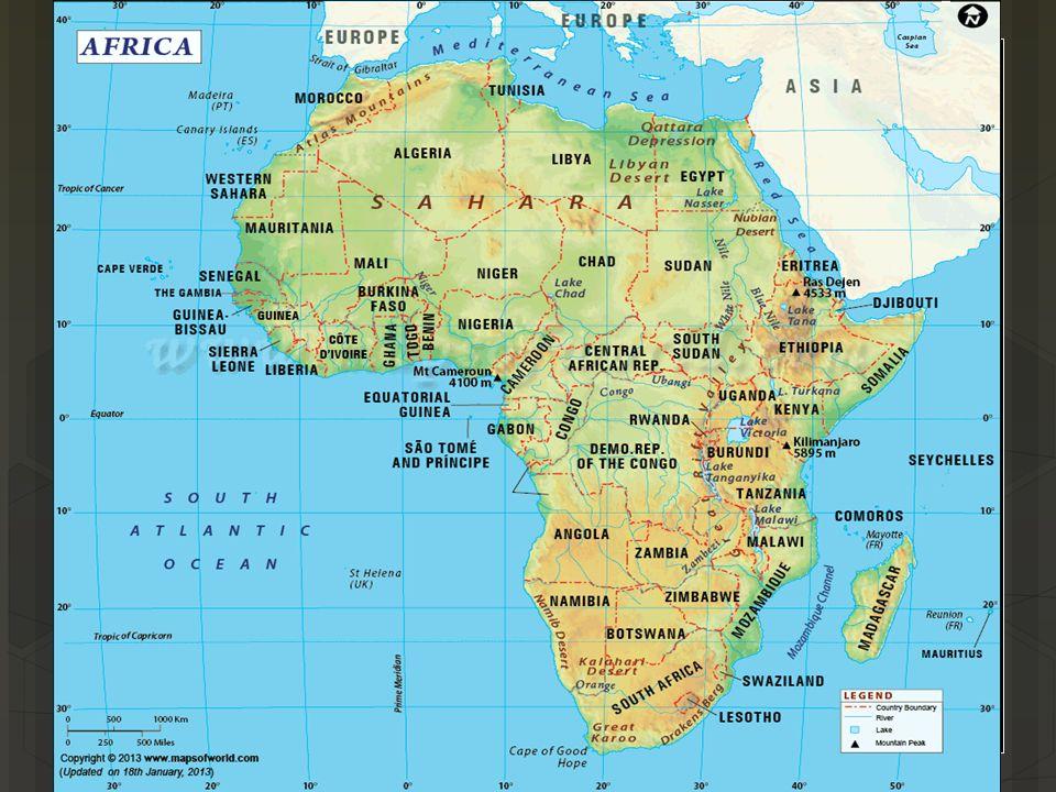 Map Of Sub Saharan Africa Rivers.Sub Saharan Africa Physical Map Jackenjuul