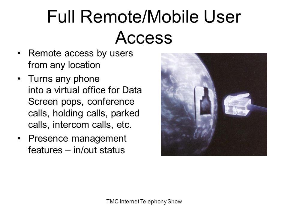 Tmc remote access