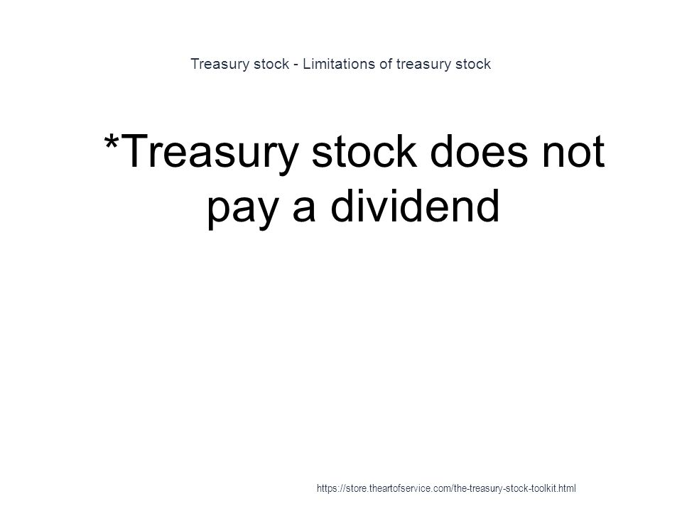 Treasury Stock - ppt download