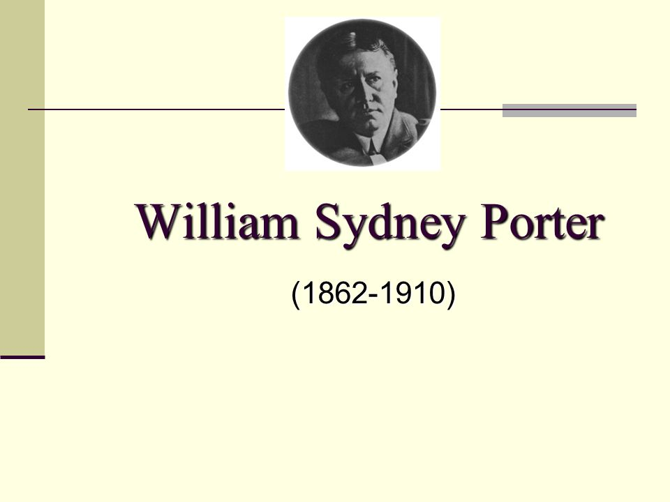 william sydney porter biography