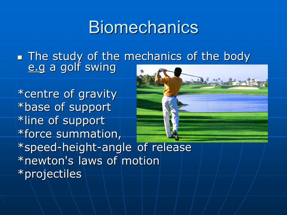 12 Anatomy Biomechanics And Physiology How The Body Responds To