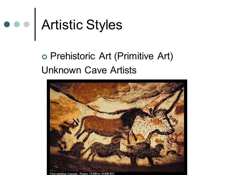 prehistoric art artists